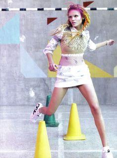 Natasha Poly in Vogue Italia March 2010 9