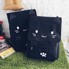 Lovely Cat Casual Bags Canvas Bags Women Backpacks School Bags B9. Cat BagCasual  ... 63a3a16d1f9e9