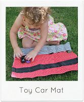 Sew Delicious: Toy Car Mat Tutorial