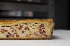 """Pizza rustica made by Buddy Valastro, the owner of Carlo's Bakery and the star of TLC's shows """"Cake Boss,"""" """"Kitchen Boss"""" and """"Cake Boss: Next Great Baker,"""" at his bakery in Hoboken, New Jersey. Calzone, Stromboli, Buddy Valastro, Easter Recipes, Holiday Recipes, Holiday Meals, Italian Easter Pie, Italian Deli, Italian Salami"""