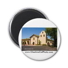 Mission Santa Inés California Fridge Magnets from the Cheshire Cat Photo Store on Zazzle!