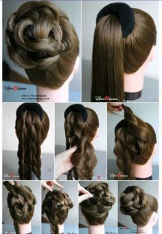 Women's Easy Hairstyles Step By Step DIY. Beautiful and Cute Braid Hairstyles. 65 Women's Easy Hairstyles Step By Step DIY. Beautiful and Cute Braid Women's Easy Hairstyles Step By Step DIY. Beautiful and Cute Braid Hairstyles. Easy Hairstyles For Medium Hair, Long Hairstyles, Braided Hairstyles, Wedding Hairstyles, Hairstyle For Women, Pretty Hairstyles, Hairstyle Ideas, Step By Step Hairstyles, Hairdos