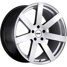 19x8 Hypersilver Wheel TSW Bardo 5x100 35