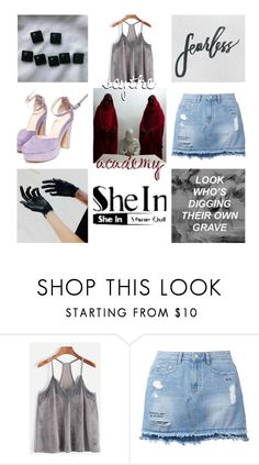 """""""fearless"""" by inspiredbyart345 ❤ liked on Polyvore featuring Steve J & Yoni P"""