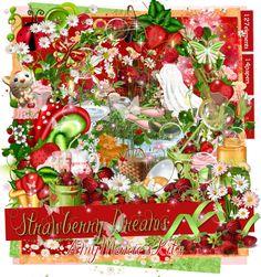 Strawberry Dreams [AM_StrawberryDreams] - $1.05 : AmyMaries Kits