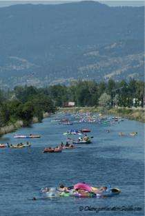 ~Doing the Channel in Penticton, British Columbia, Canada~