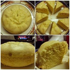 My kitchen experiments: Pineapple sponge cake in pressure cooker!