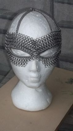 Chainmail mask, OMG!! I have never wanted something sooooo bad!!! (Well, except Tom)