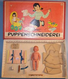 Schildkröt Dolls Doll tailor business with Inge doll, Head stand