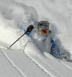 Dreams are made of this... #Skiing #Ski #Winter #Snow #Powder Re-pinned by www.avacationrental4me.com Follow for follow, pin for pin!
