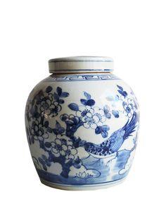 Blue & White Ginger Jar, 10