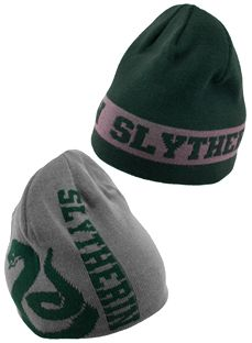 Harry Potter Slytherin Reversible Knit Beanie