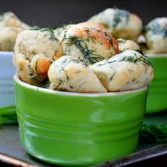 Savory monkey bread with dill butter. A recipe for Chef Chris Pandel's popular dish at The Bristol, Chicago.