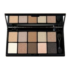 NYX Cosmetics Eye Shadow Palette 10 Color, Caviar and Bubbles: Perfect neutral eye palette for just $11!