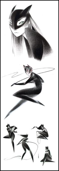 Catwomen - Junyi Wu {hello-zombie.tumblr.com}