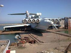 Fotogalerie: Příšera z Kaspického moře: Sovětské monstrum bylo určeno k bleskové invazi do Evropy!