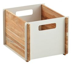 Box Opbevaringskasse - Teak - Opbevaringskasse i teaktræ
