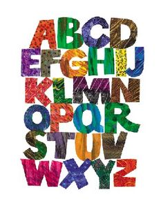 Eric Carle letters! <3