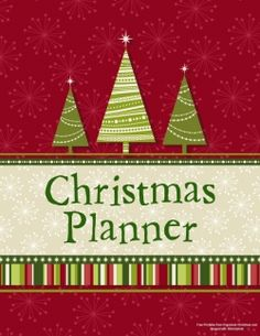 Planner Cover - Scrappy | Organized Christmas