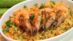 Couscous Shrimp Salad Recipe