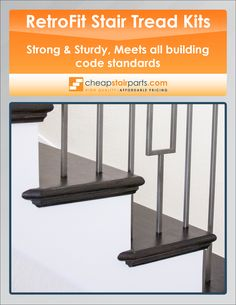 We Sell Durable Retrofit Stair Tread Kits. See The Whole Selection On Our  Website: