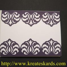 Card Samples Using Stampin' Up! Card Stock and the Silhouette Cameo Part 1