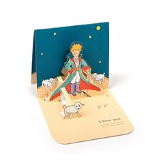 The Little Prince Pop-Up Card by 7321 Design