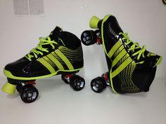 Schuhe: Adidas Platte: Karbon/Zytel Rollen: Hyper 62mm  Kugellager: Truhe ABEC 3 Made by: rollschuhe.de