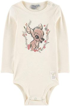 Currently on sale! Love the romantic Bambi look, this would make a great gift for a new baby girl. AND how gorgeous are the subtle tones?! Nothing better than some Disney! #babygirloutfits