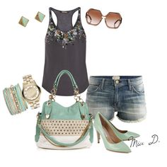 SummerTime1 by misssglamour on Polyvore