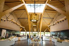 Interiors and architecture at Gloucester Services