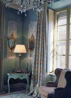 French blue decor