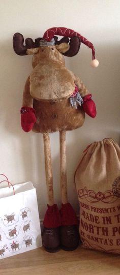 Resultado de imagen para gorras de tela polar Proyectos que - moose christmas decorations