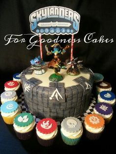Skylander cake!