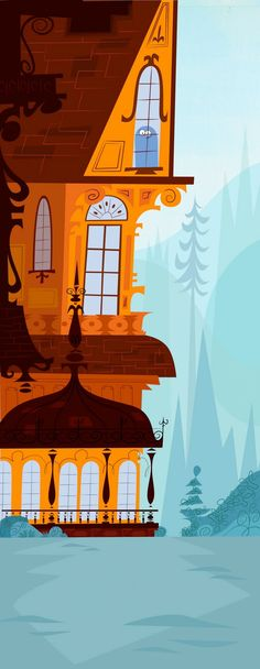 Fosters Home For Imaginary Friends Backgrounds.  Some of the greatest backgrounds in TV Animation