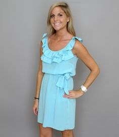 Love this style of dress for Bridesmaids! Would look so cute with cowgirl boots or sandals!