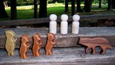 Wooden Storytelling Set