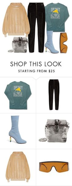 """""""Untitled #1053"""" by dayal-may ❤ liked on Polyvore featuring Comfort Colors, Vetements, Opening Ceremony, Forever 21, forever21, OpeningCeremony, vetements and KM20"""