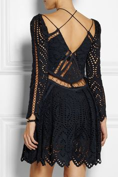 Zimmermann broderie anglaise playsuit