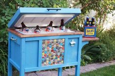 A cooler that doesn't need to be hidden away! via Ana White
