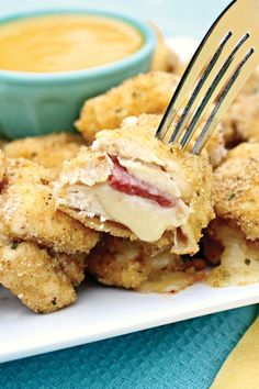 5 Easy Recipes Your Kids Will Love: Chicken Cordon Bleu Bites