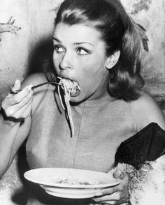 Excellent news: A new study suggests that pasta eaters have healthier diets than non-pasta eaters. Take that Paleo Head to MarieClaire.com to learn more. Pictured here Austrian actress Senta Berger in Rome in 1966. via MARIE CLAIRE MAGAZINE OFFICIAL INSTAGRAM - Celebrity Fashion Haute Couture Advertising Culture Beauty Editorial Photography Magazine Covers Supermodels Runway Models