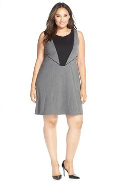 Tart'Deandra' PonteFit & Flare Dress (Plus Size) available at #Nordstrom