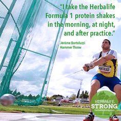 Jérôme Bortoluzzi - Hammer Throw - Herbalife Sponsored Athlete