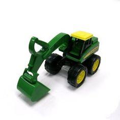 Amazon.com: John Deere Big Scoop Loader: Toys & Games