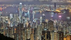 Hong Kong's skyline is impressive during the daylight hours but will really knock your socks off when all the skyscrapers are lit in the evening. https://twitter.com/heenasingla528/status/669468536146890752