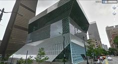 USA - Seattle - Seattle Public Library - It was designed by architect Rem Koollhas.