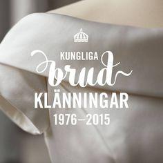 """18 oktober öppnar utställningen 'Kungliga brudklänningar 1976- 2015' på Kungliga slottet. I utställningen ges en unik möjlighet att se Drottningens, Prinsessan Lilians, Kronprinsessans, Prinsessan Madeleines och Prinsessan Sofias brudklänningar på nära håll.  Utställningen visas i en av Sveriges mest storslagna salar – Rikssalen -  till och med den 12 mars 2017.  Läs mer om utställningen och förboka biljetter på www.kungahuset.se/kungligabrudklänningar  On October 18, the exhibition """"Royal…"""