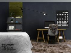 - Tungsten Teen Bedroom Found in TSR Category 'Sims 3 Kids Bedroom Sets' Sims 4 Cc Furniture, Bedroom Furniture Sets, Burgundy Couch, 3 Kids Bedroom, Healthy Living Magazine, My Sims, House Plans, Sims Resource, Design