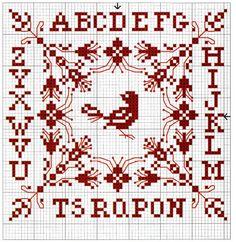 Via Nienke de borduurvrouw kwam ik in contact met Coby, die zo lief was om me een aantal patroontjes te mailen die perfect zijn voor in de l...
